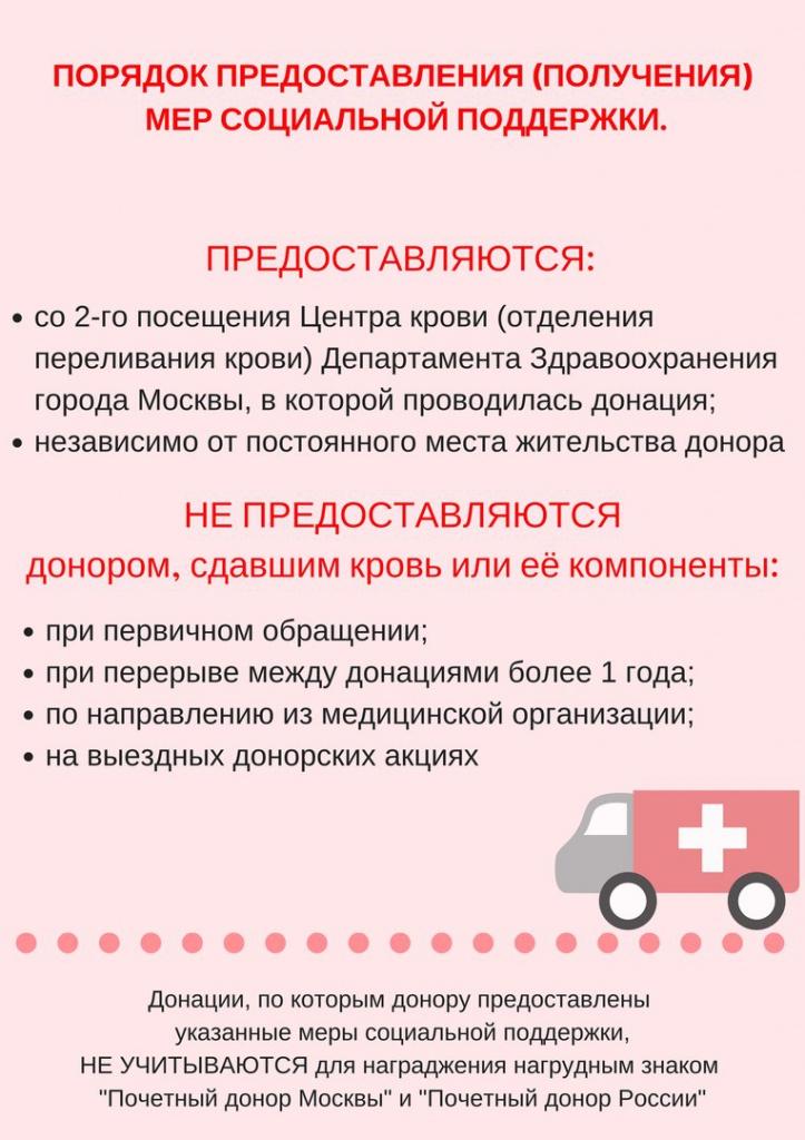 Сдать донорскую кровь в москве